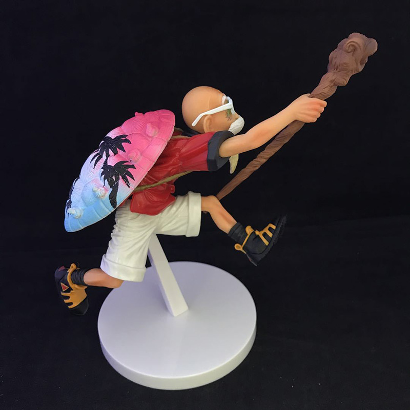 Dragon Ball Kame Sennin PVC Action Figure Tropical Color Ver. Master Roshi PVC Model Kids Gifts no retail box (Chinese Version) 1
