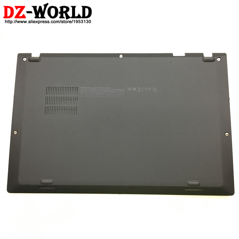 New Original for Lenovo ThinkPad X1 Carbon 5th Gen 5 Back Shell Bottom Case Base Cover 01LV461 SM10N01545 new original orange for lenovo u330 u330p u330t touch bottom lower case base cover lz5 grey 90203121