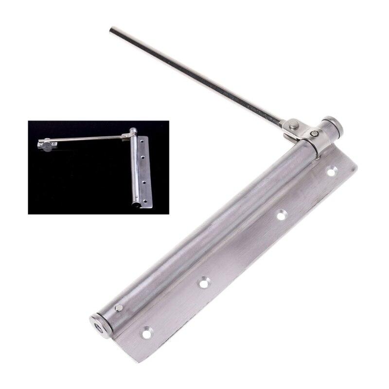 Регулируемый Дверной доводчик из нержавеющей стали Автоматическая пружинная защелка мебельная фурнитура W-store D20_E
