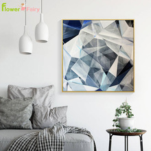 Abstract Geometry Wall Art Canvas Painting Minimalist Nordic Poster Modern Decorative Pictures For Living Room Unframed