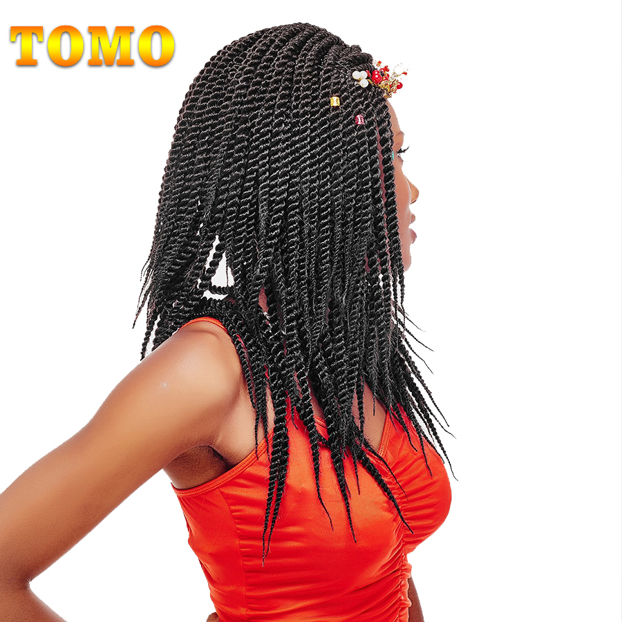 Pageup 24 Inches Kanekalon Hair Synthetic African Afro Jumbo Hair Braids Blue Pre Stretched Ombre Braiding Hair Extensions Various Styles Jumbo Braids Hair Extensions & Wigs
