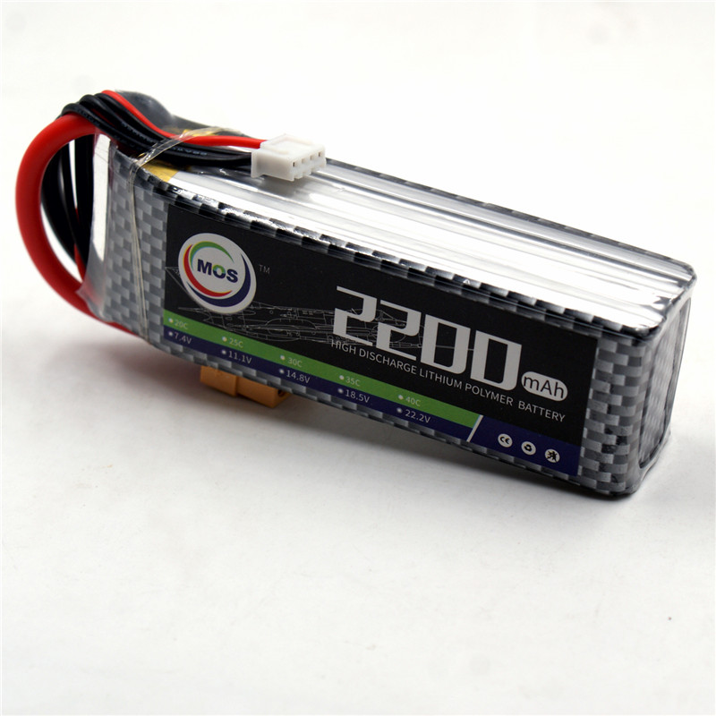 MOS 3S RC LiPo Battery 11.1V 2200mAh 30C Li-Po batteries for Trex-450 Fixed-wing RC Helicopter Car Boat Quadcopter 3s batteria xxl rc lipo battery 2200mah 11 1v 3s 30c for trx 450 rc fixed wing helicopters airplanes cars