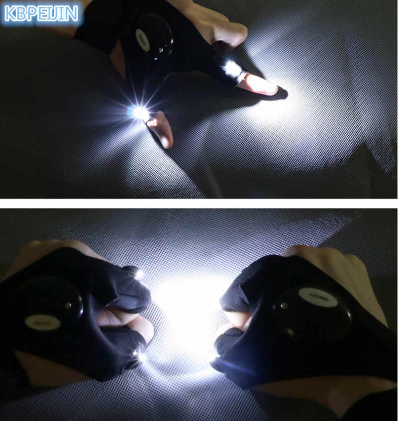 0864a11272e04f Fingerless Glove LED Flashlight Outdoor Survival Rescue Tool for ALFA ROMEO  147 159 156 mito giulietta