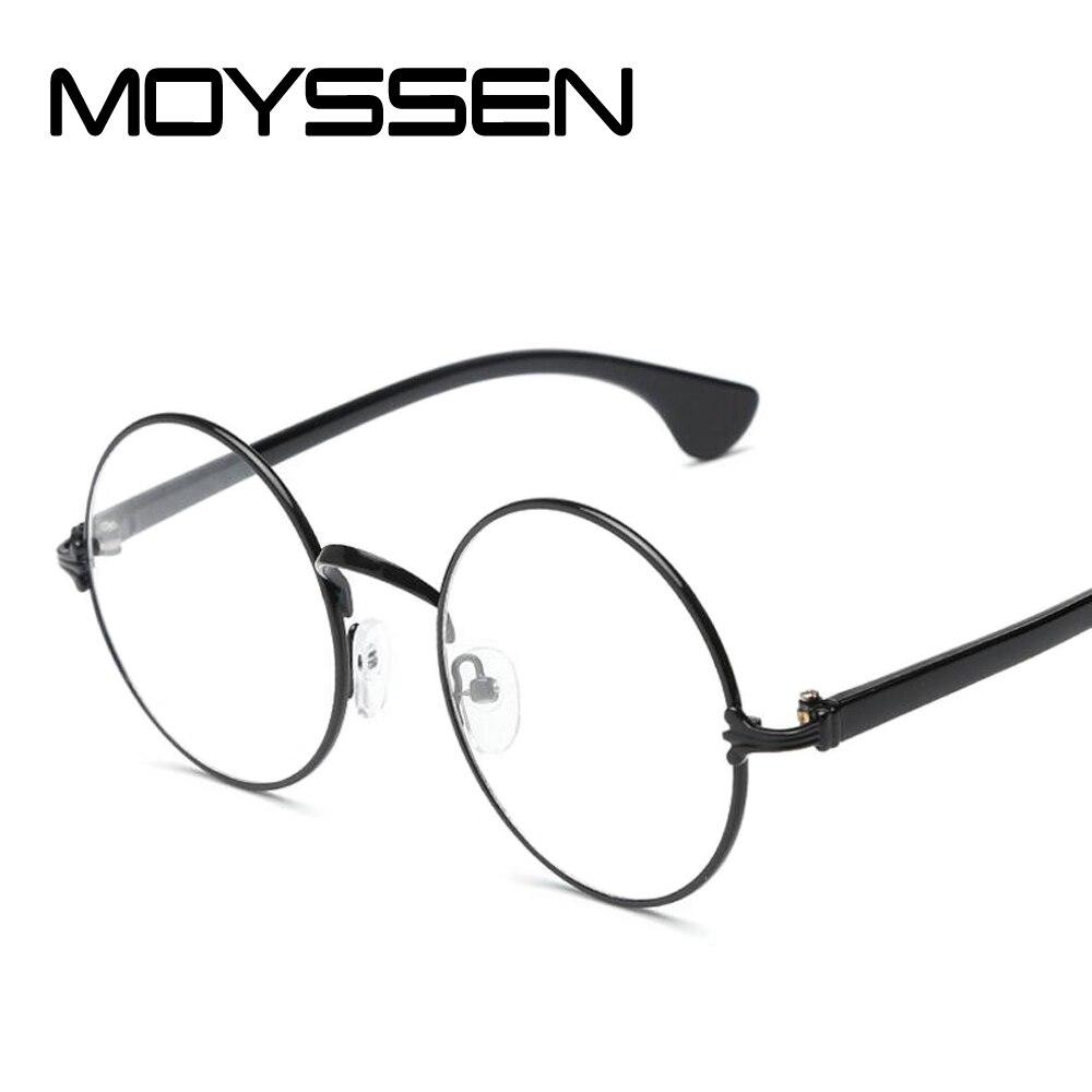 8b538541bd31 Detail Feedback Questions about MOYSSEN Fashion Harajuku Retro Round Glasses  Frame Women Myopia Metal Circle Eyeglasses Optical Prescription Lens Plain  ...