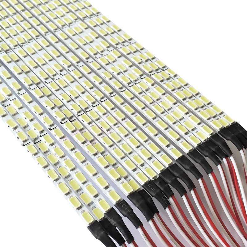 Универсальный Выделите затемнения светодиодный Подсветка лампы обновления Комплект регулируемая светодиодная лампа для ЖК-дисплей монитор 2 светодиодный полоски