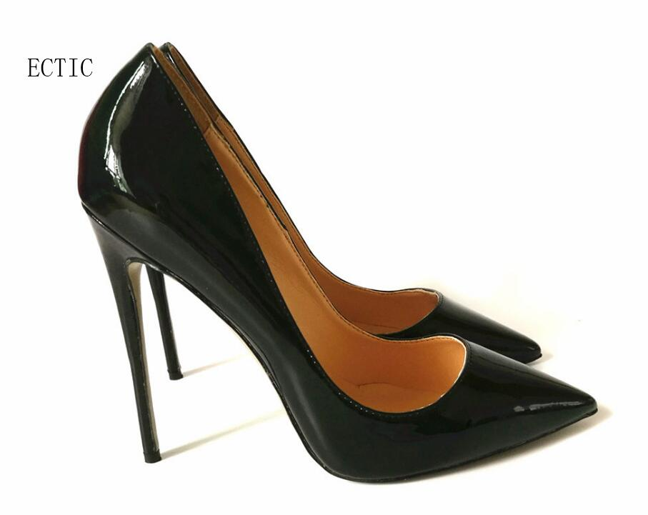 Top Quality Big  Women Pumps black Color Pointed Toe High Heels Sexy Thin Heels Zapatos Mujer Women Shoes Size 34-43 plus size 34 43 women thin high heel pumps zapatos mujer fashion sexy pointed toe ankle strap party shoes women pumps 160