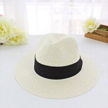 Summer Fun Wide Brim Panama Hat