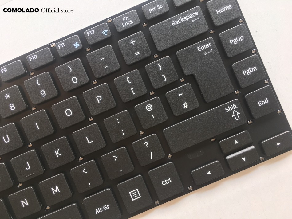 UK Keyboard For Samsung 370R4E 370R4V 450R4E 450R4V 470R4E 470R4V NP370R4E NP450R4E black Keyboard UK layout (2)