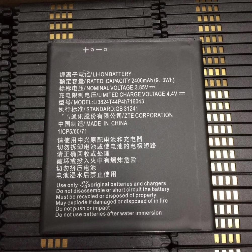 3.85V 2400mAh Li3824T44P4h716043 For ZTE Blade A520 A521 BA520 Battery