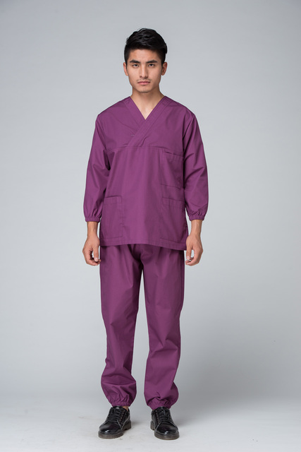 d3b934f7664 Free Shipping OEM scrub sets medical suits hospital workwear surgical clothes  hot sale