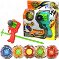 3pcs/set Beyblade Arena kids  Spinning Top Metal Fight  Metal Fusion Children Gifts Classic Toys