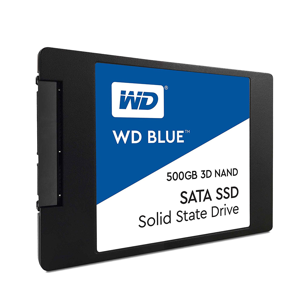 "Image 2 - Western Digital Blue SSD interne Solid State Disque 250GB 500GB 1TB 2TB   SATA 6 Gbit/s 2.5"" 3D NAND WD S500G2B0A-in Internal Solid State Drives from Computer & Office"