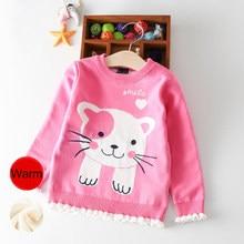 0492c8d29bc19 Bébé Vêtements Chandail Tricoté Enfant Fille Pull Pour Filles Loisirs  Enfants Chandails Chauds Hiver Automne Enfants