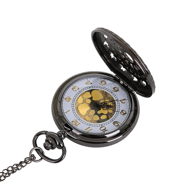 Pocket watch Vintage Chain Retro The Greatest Pocket Watch Necklace For Grandpa