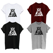 Add to Wish List. Fall Out Boy FOB Music Tour Indie Rock N Roll Crown Logo  Men s Women s Unisex Clothing 17ce0b90d188