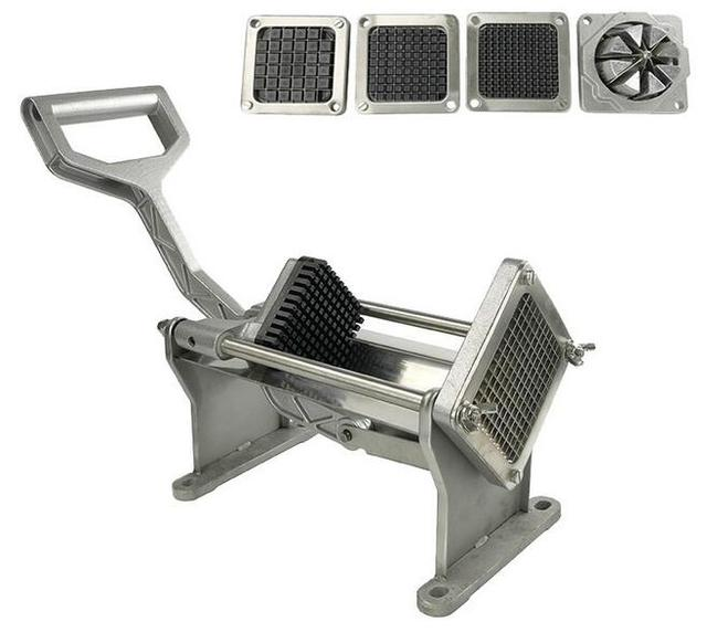 Restaurant Stainless Alloy Vegetables Potato Commercial French Fry Cutters  Slicer