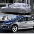 1Pcs Car Covers Styling Indoor Outdoor Sunshade Car Outdoor Proof Sun Dust for Peugeot 408