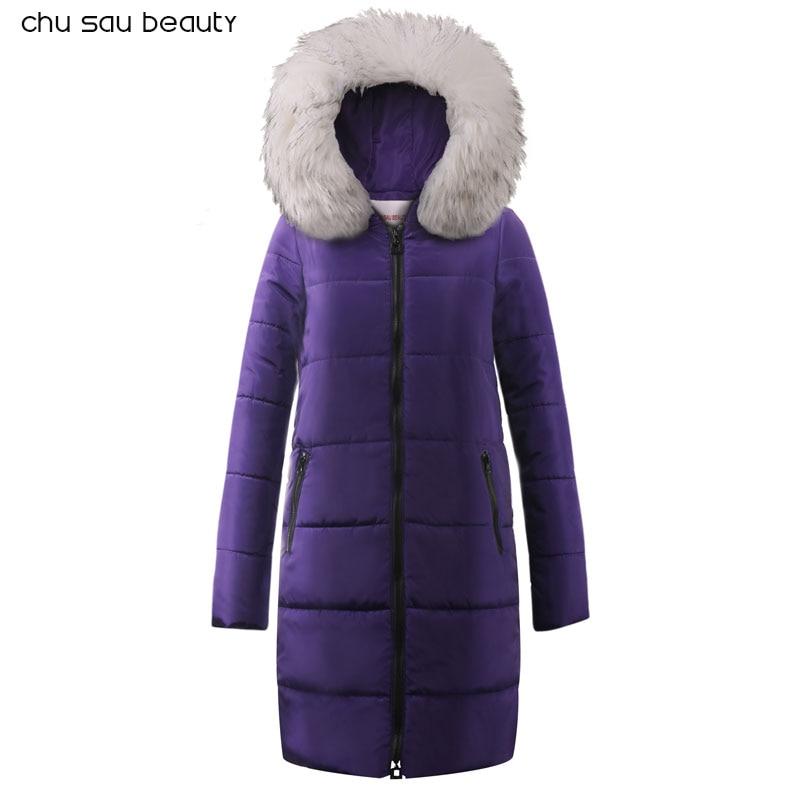 Femmes Manteau Veste Moyen Longueur Femme Parka Avec UN Lapin De Fourrure D'hiver Épais Manteau Femmes Nouvelle Collection Hiver Veste De Mode
