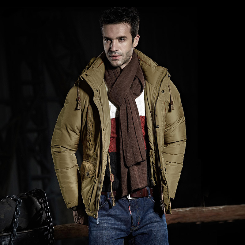 Autumn Winter Cotton Padded Jacket Men s Hooded Thickening Foreign Trade Plus Size Cotton Padded Clothes
