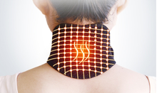 Tourmaline Magnetic Therapy Thermal Self-heating Neck Pad Massager Belt Cervical Vertebra Protection Neck Support Brace Massage