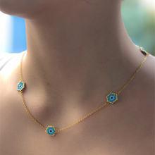 Go2boho miyuki ожерелья Турецкий Дурной глаз чокер insta модное