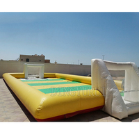 inflatable football field, cheap inflatable soccer field, inflatable bumper soccer court sport game for sale
