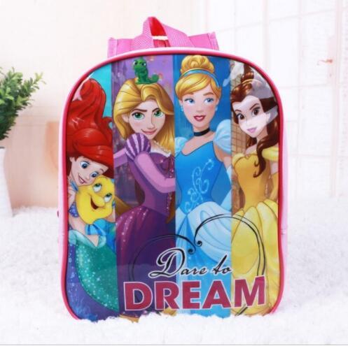 Новые Симпатичные принцесса Человек-паук McStuffins Рюкзак Дети школьный детей школьные сумки детский сад Дошкольные Рюкзаки для девочек