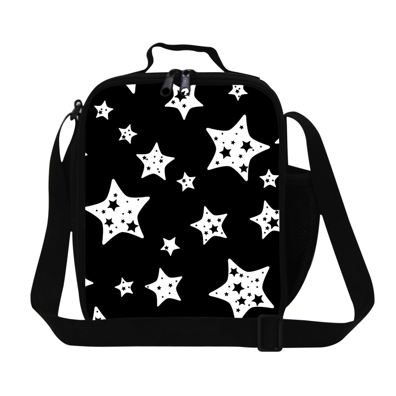 insulated cooler bags for children,Star Printed lunch bags for work,Girls lunch bag with containers,pack it lunch bags for women