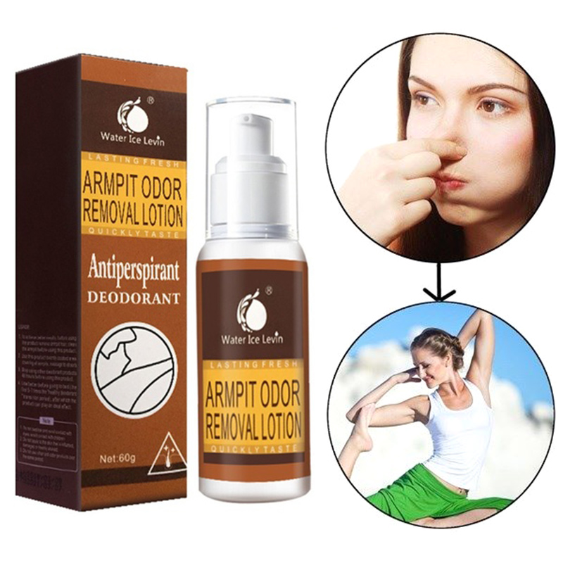 Armpit Odor Removal Lotion Antiperspirant Cleanser Deodorant Body Odor Care H7JP