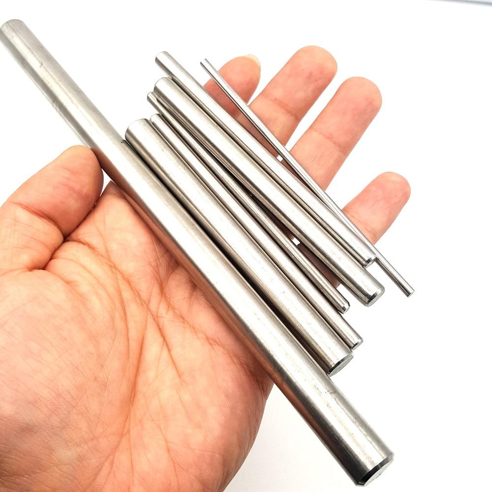 Диаметр 2/3/4/5/6/8/10/12 мм стальной вал коробки передач набор «сделай сам» для электродвигательного привода игрушечной модели зубчатая передача Короткая ось