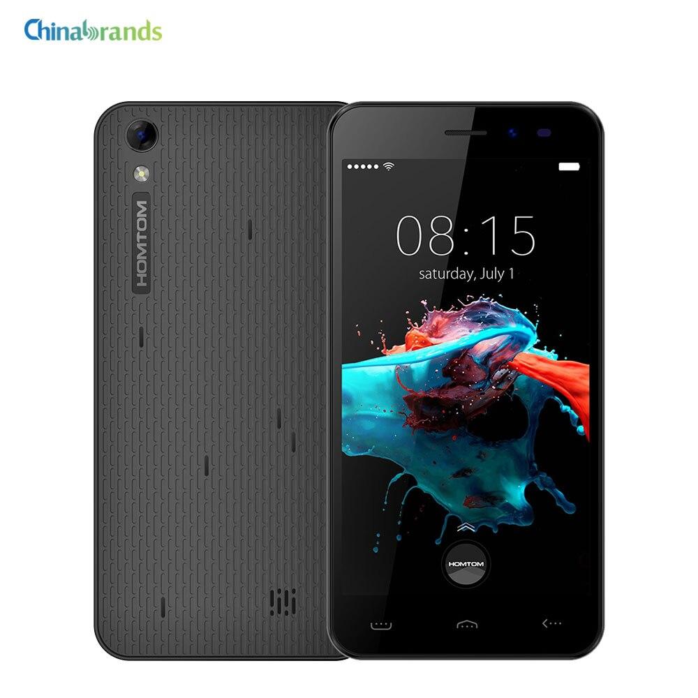 """Цена за Homtom HT16/HT16 Pro Android 6.0 5.0 """"3 Г/4 Г Смартфон MTK6580 Quad Core 1 ГБ + 8 ГБ Пробуждения Жест GPS Dual SIM 3000 мАч Мобильного Телефона"""