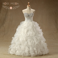 Rose Moda Bling Crystal Quinceanera Dresses Sweetheart White Ivory Debutante Dress Ball Skirt Debs Dresses Lace Up Back