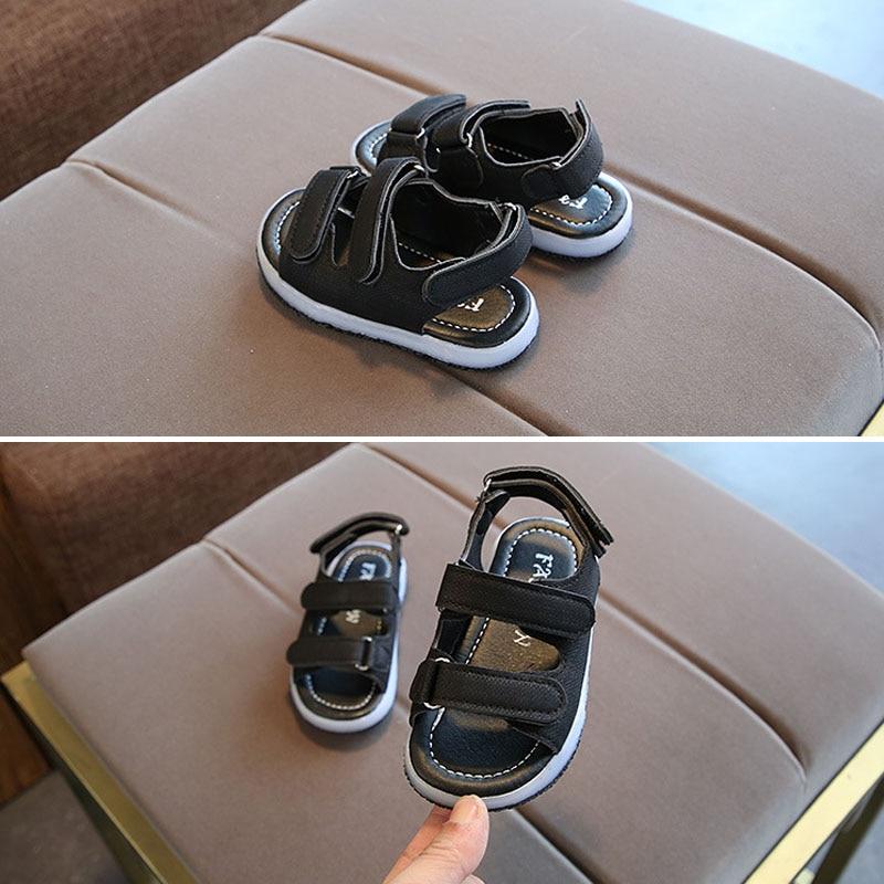 Led-Sandals Luminous-Shoes Girls Kids Summer Children NSV775 1-Pair Strappy Light-Up