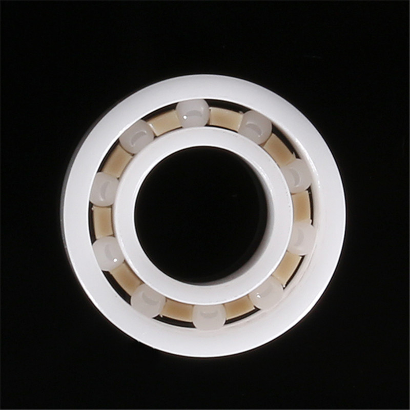 1pc Brand New R188 6.35x12.7x4.762mm Zirconia Ceramic Bearing For Fidget Hand Spinner