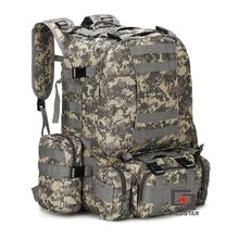 ACU Camo Sports Outdoor Military Tactical Backpack Travel Ba