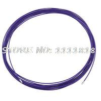 30m x 3.5mm Purple Plastic Coated Metal Flexible Fish Tape Wire Cables Puller