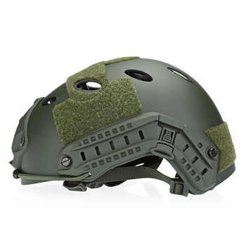 Adjustable Tactical Helmet Airsoft Gear Face Mask Helmet Paintball Head Protective with Night Vision Sport Camera Mount