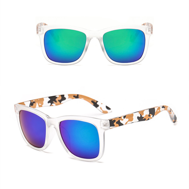 JAXIN Classical Vintage Camouflage Sunglasses Men and Women Versatile Sunglasses Trend Square Driving Sunglasses Men in Men 39 s Sunglasses from Apparel Accessories