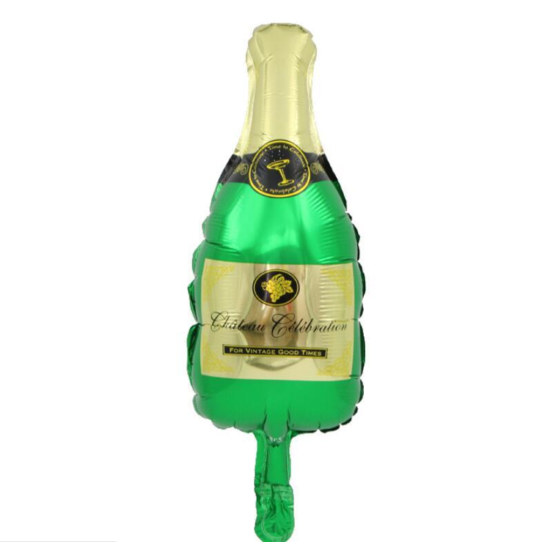 Wine glass bottle mini balloon baby shower children's birthday party decorating wedding supplies balloon toys
