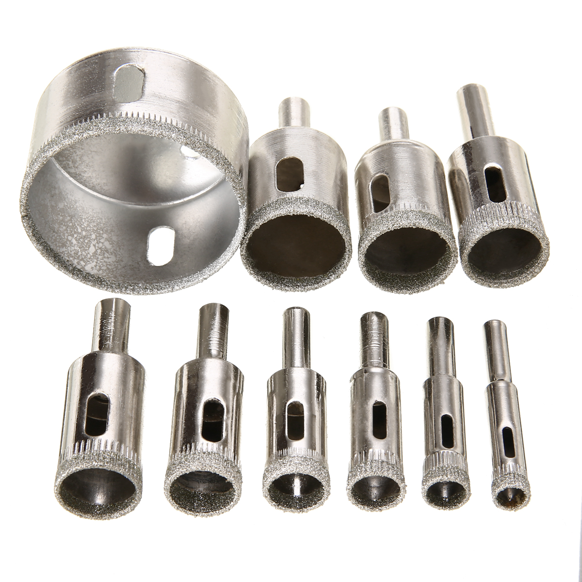 "1 pc 40mm 1 9//16/"" inch THK Diamond coated core drill drills bit hole saw tile"