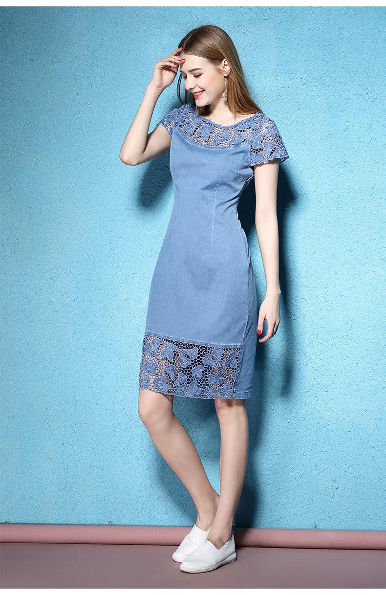 pierced women's Summer dress 6