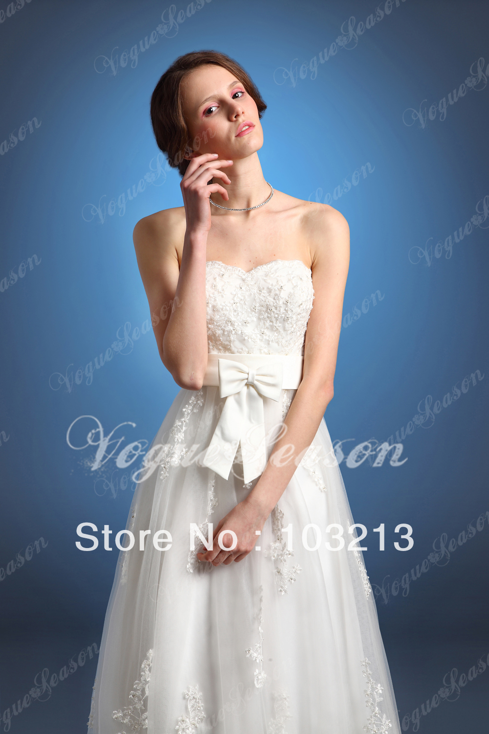 Lastest Design Wedding Gown,Sweetheart New Style No.2933 A Line ...