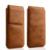 Jisoncase Caso de Telefone Para o iphone 6/6 Mais Saco Genuíno capa de couro Para o iphone 6 s/6 s Plus Manga Capa Bolsa Magnética fechamento