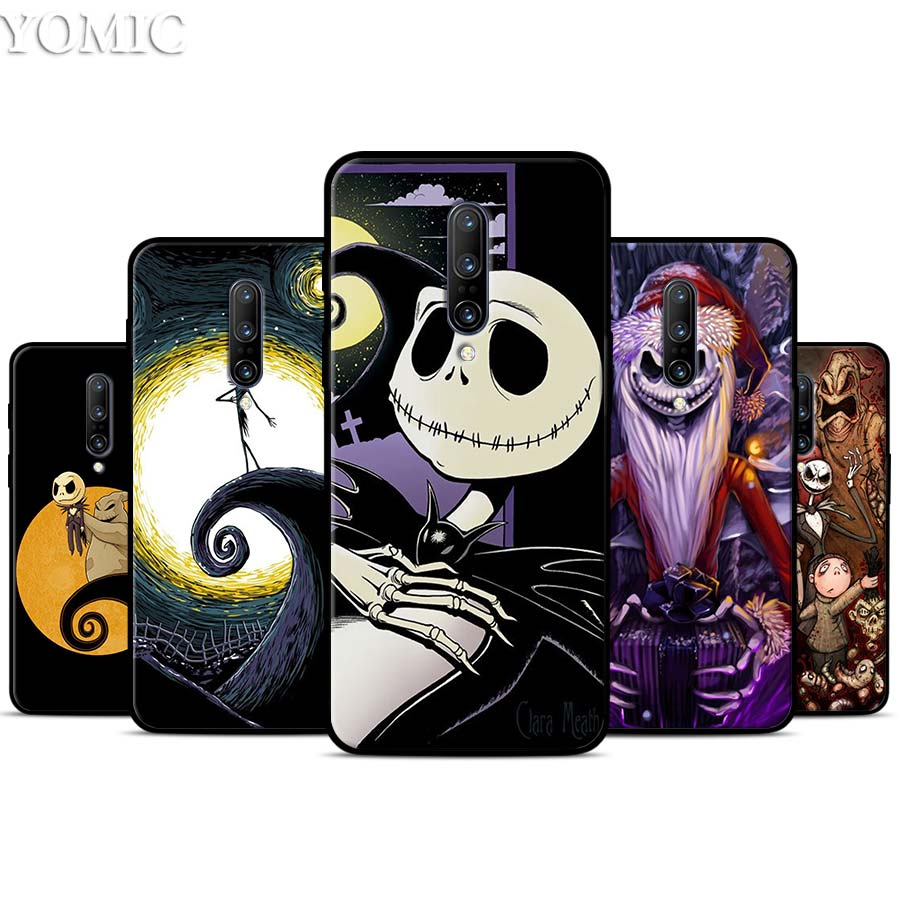 Nightmare Before Christmas Silicone Case for font b Oneplus b font font b 7 b font