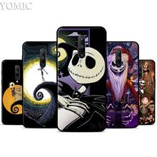 Nightmare Before Christmas Silicone Case for Oneplus 7 7Pro 5T 6 6T Black Soft Case for Oneplus 7 7 Pro TPU Phone Cover