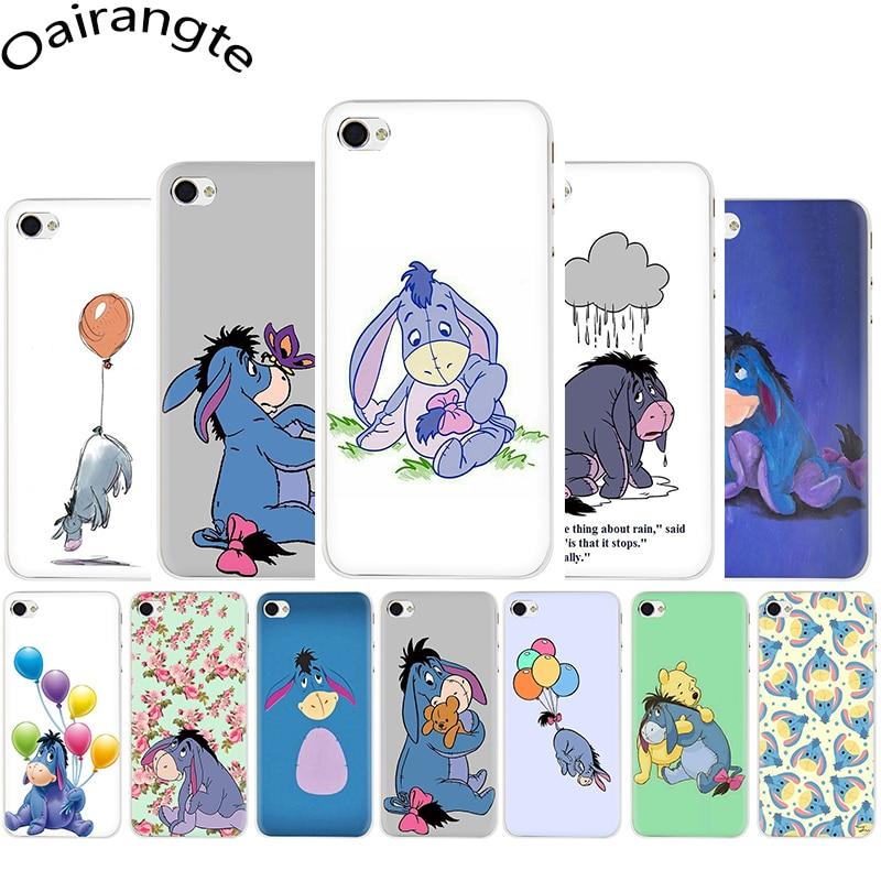 Baby Eeyore Eeyore Donkey Hard Phone Cover Case For Iphone 5 5s 5C SE 6 6s 7 8 Plus X XR XS 11 Pro Max