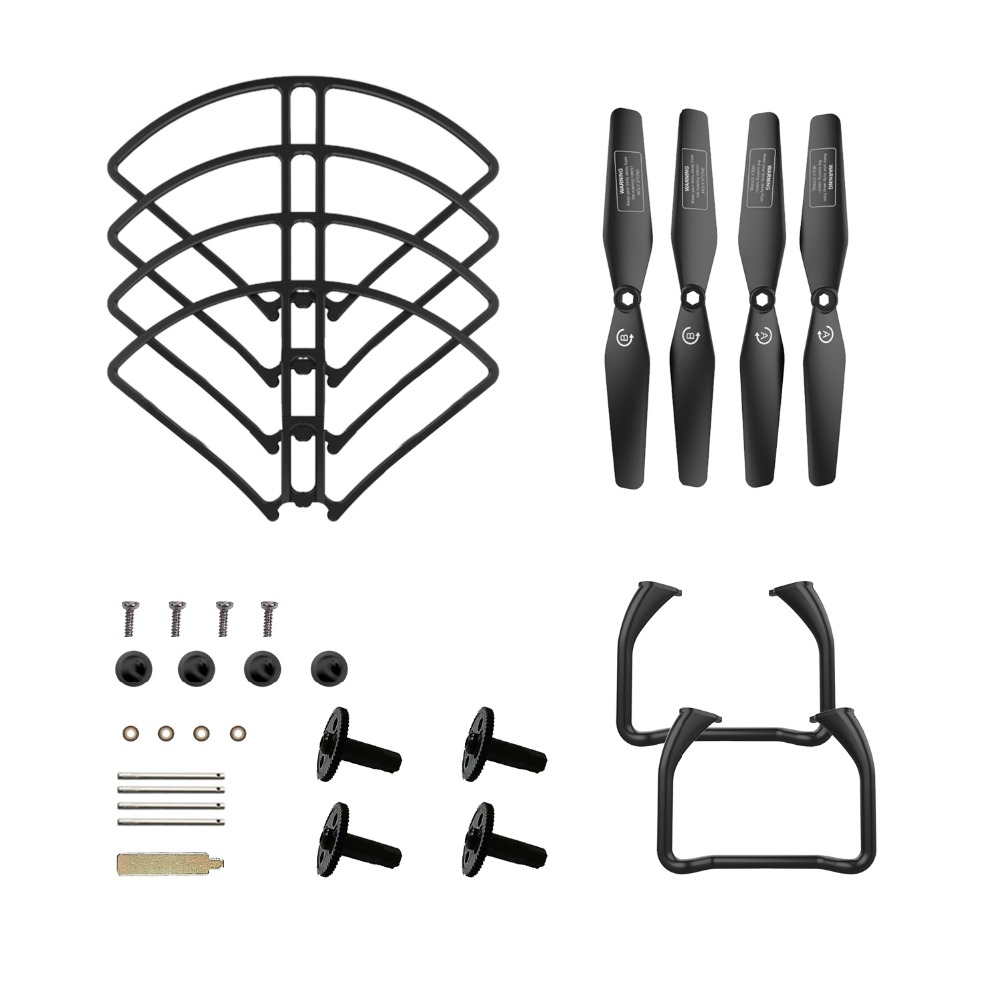 Holy Stone HS120D Drone Kits to Assemble Large Drones Propeller Guard Protection Storage Set Parts(China)