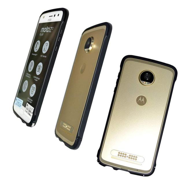 finest selection acb68 bec67 US $15.09 5% OFF|moto Z2 Play Bumper Case Mods Compatible Dngn Shockproof  Aluminum Metal Frame cover for motorola moto z2play-in Phone Bumper from ...