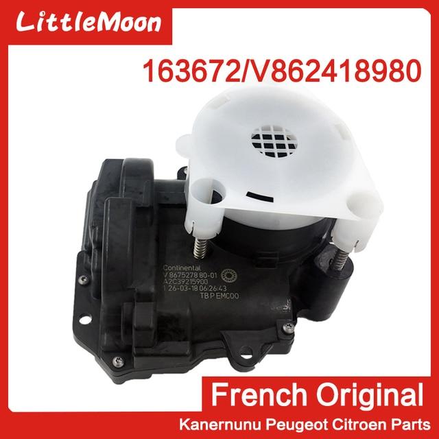 Echte Elektronische Gasklephuis V862418980/163672 Voor Peugeot 207 308 408 508 3008 Rcz Citroen C3 C4 C5 DS3 DS4 DS5