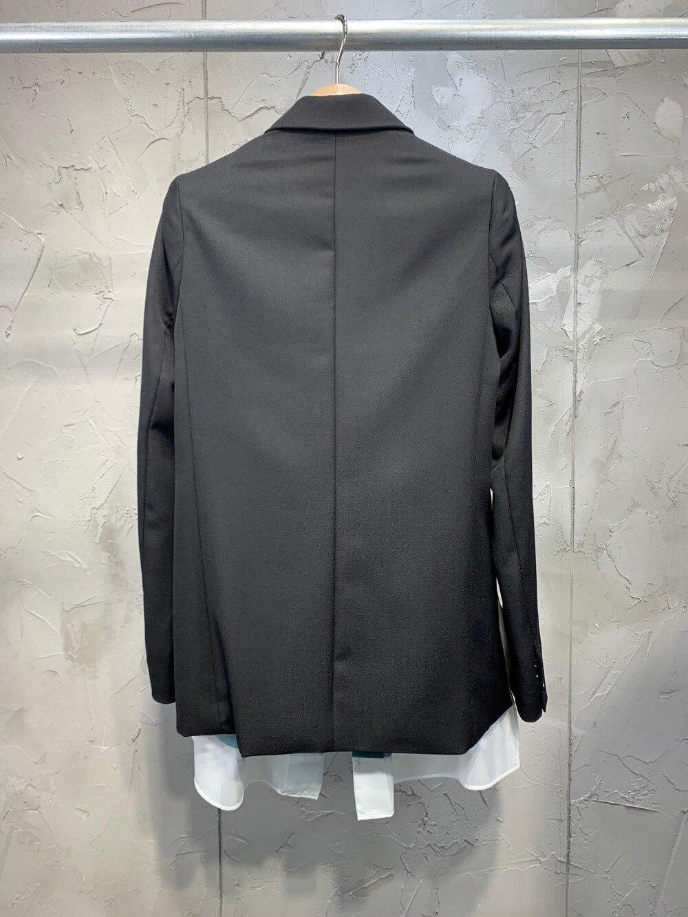 Patchwork 21 2019 Nouvelles Blazer Ddxgz3v Femmes Manteau Laine 2 E44UPxq